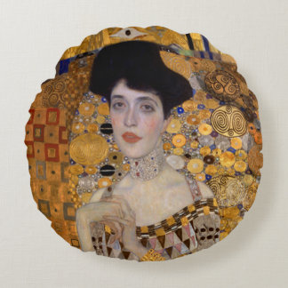 Gustav Klimt | Modified Version | Woman Round Pillow