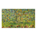 Gustav Klimt painting art nouveau The Apple Tree Double-Sided Standard Business Cards (Pack Of 100)