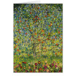 Gustav Klimt painting art nouveau The Apple Tree Greeting Card