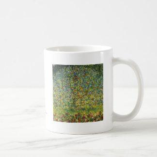 Gustav Klimt painting art nouveau The Apple Tree Coffee Mug