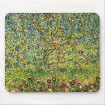 Gustav Klimt painting art nouveau The Apple Tree Mousepads