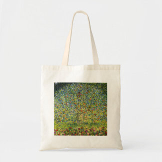 Gustav Klimt painting art nouveau The Apple Tree Tote Bag