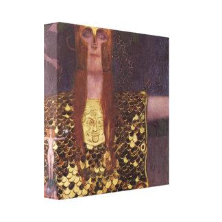 Gustav Klimt - Pallas Athena Canvas Print