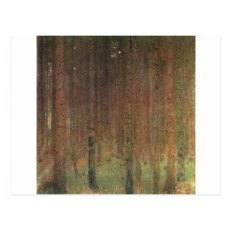 Gustav Klimt - Pine Trees, 1902 Postcard