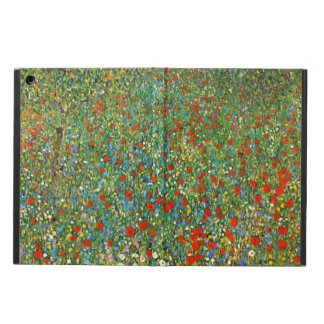 Gustav Klimt Poppy Field Cover For iPad Air