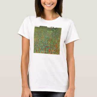 Gustav Klimt Poppy Field Shirt