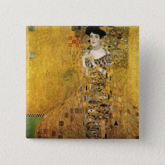 GUSTAV KLIMT - Portrait of Adele Bloch-Bauer 1907 Pinback Button