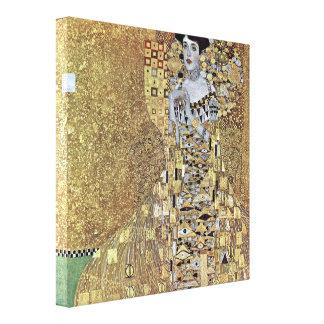 Gustav Klimt - Portrait of Adele Bloch-Bauer Canvas Print