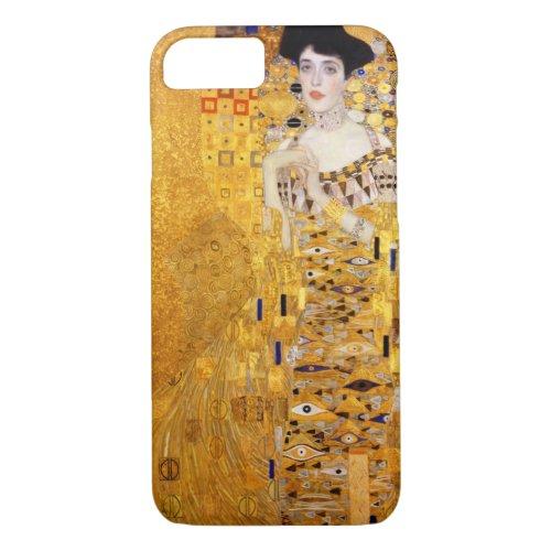 Gustav Klimt Portrait of Adele Bloch-Bauer I Phone Case