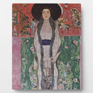 Gustav Klimt Portrait of Adele Bloch-Bauer II Plaque