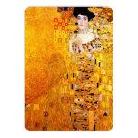 Gustav Klimt Portrait Of Adele Bloch-Bauer Invites