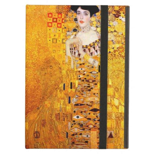 Gustav Klimt Portrait Of Adele Bloch-Bauer iPad Air Cover