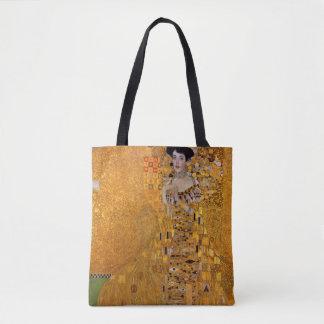 Gustav Klimt Portrait of Adele GalleryHD Vintage Tote Bag