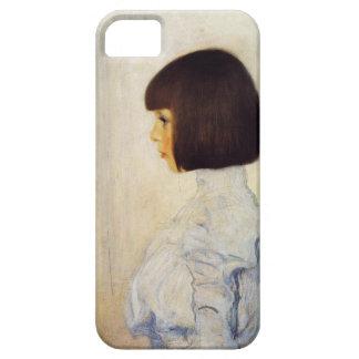 Gustav Klimt Portrait of Helene Klimt iPhone Case iPhone 5 Case