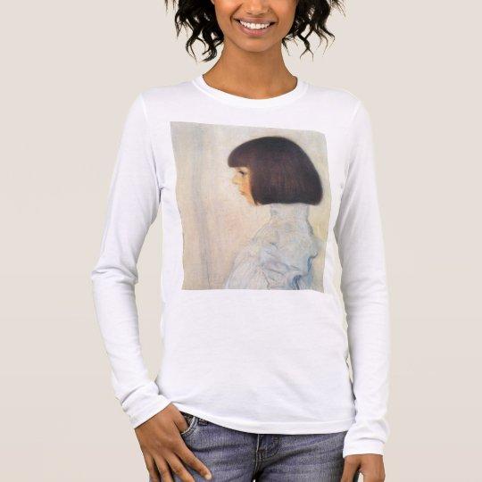 Gustav Klimt Portrait of Helene Klimt Long Sleeve T-Shirt