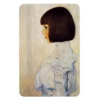 Gustav Klimt Portrait of Helene Klimt Magnet