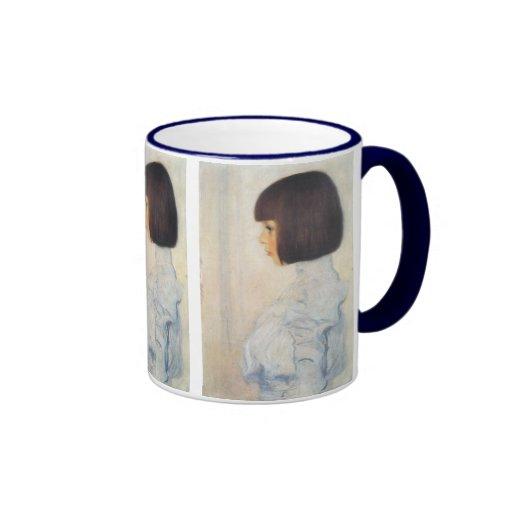 Gustav Klimt Portrait of Helene Klimt Ringer Coffee Mug