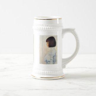 Gustav Klimt Portrait of Helene Klimt Stein Coffee Mugs