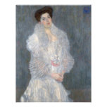 Gustav Klimt Portrait of Hermine Gallia Invitation