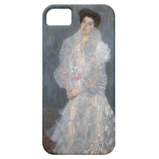 Gustav Klimt Portrait of Hermine Gallia iPhone Cas iPhone SE/5/5s Case