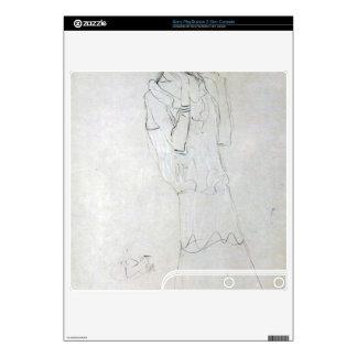 Gustav Klimt - Profile standing female figure with PS3 Slim Skin