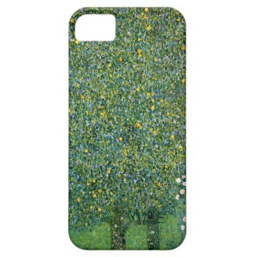 Gustav Klimt Rosebushes iPhone 5 Cover