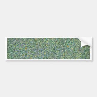 Gustav Klimt - Rosebushes under the Trees Artwork Bumper Sticker