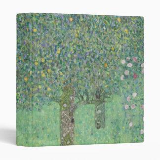 Gustav Klimt - Rosebushes under the Trees Binder