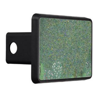 Gustav Klimt - Rosebushes under the Trees Trailer Hitch Cover