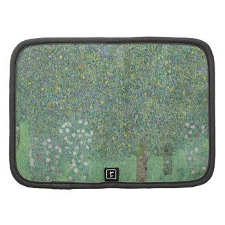 Gustav Klimt - Rosebushes under the Trees Planner