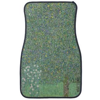 Gustav Klimt - Rosebushes under the Trees Car Mat