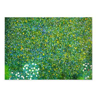 Gustav Klimt Roses Under The Pear Tree Invitations