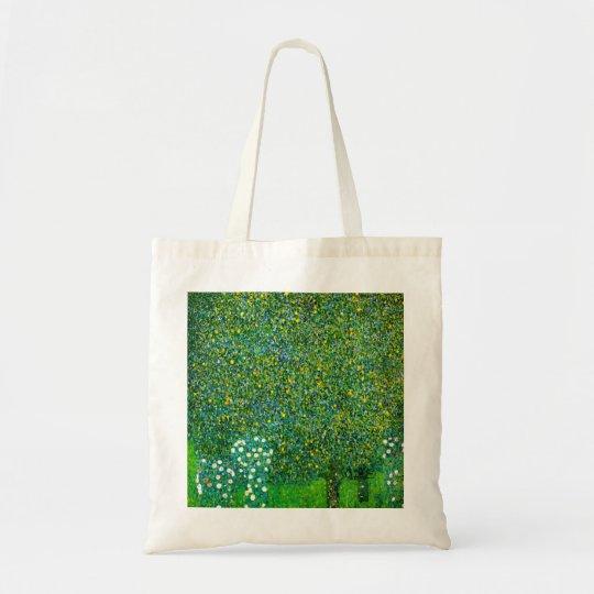 Gustav Klimt Roses Under The Pear Tree Tote Bag