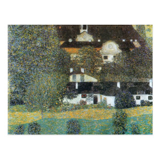Gustav Klimt- Schloss Kammer am Attersee, II Postcard