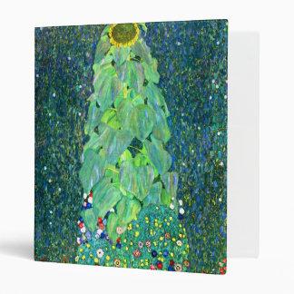Gustav Klimt: Sunflower 3 Ring Binder