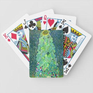 Gustav Klimt: Sunflower Bicycle Playing Cards