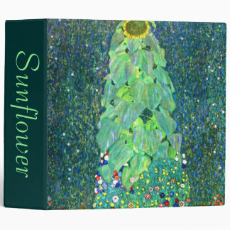 Gustav Klimt: Sunflower Binder