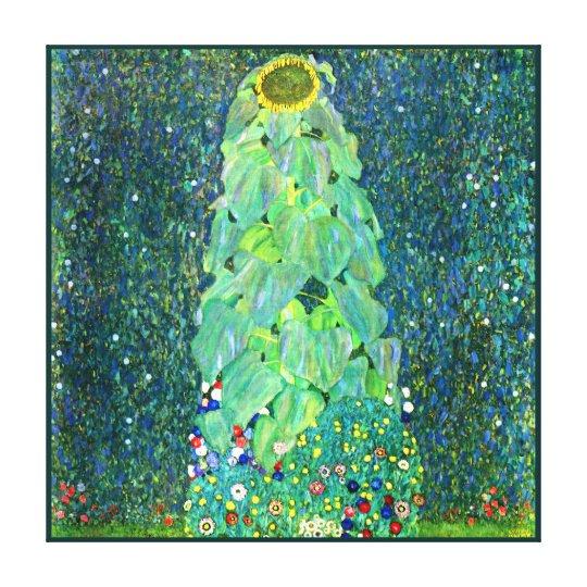 Gustav Klimt: Sunflower Canvas Print