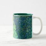 Gustav Klimt: Sunflower Coffee Mugs