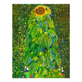 Gustav Klimt Sunflower Invitations