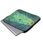 Gustav Klimt: Sunflower Laptop Sleeve