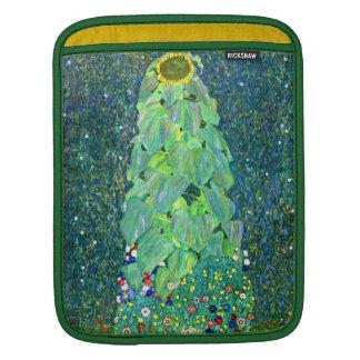 Gustav Klimt: Sunflower Sleeves For iPads