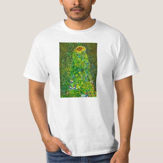 Gustav Klimt Sunflower T-shirt