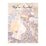 Gustav Klimt - The Baby Announcement