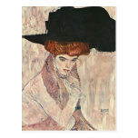 Gustav Klimt- The Black Feather Hat Post Card