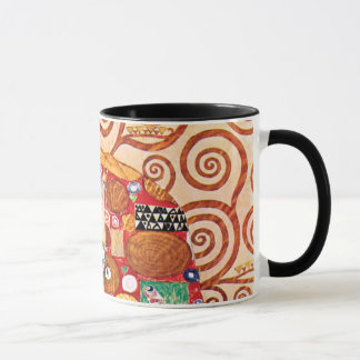 Gustav Klimt - The Embrace - Fine Art Painting Mug