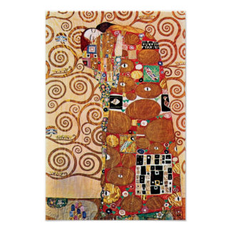 Gustav Klimt - The Embrace - Fine Art Painting Poster