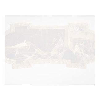 Gustav Klimt: The Globe Theatre in London Custom Letterhead