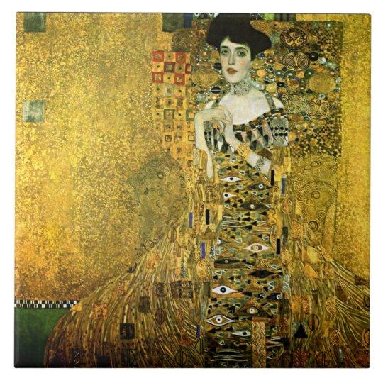 Gustav Klimt The Golden Lady Ceramics Ceramic Tile