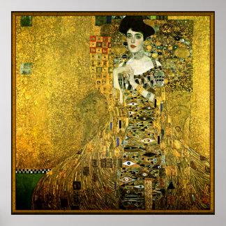 Gustav Klimt The Golden Lady Poster